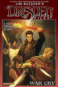 Jim Butcher's The Dresden Files book cover