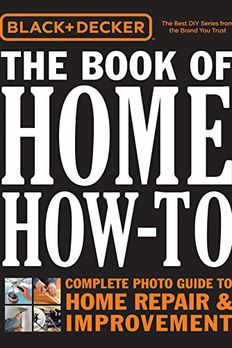 Black & Decker The Book of Home How-To book cover