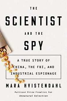 The Scientist and the Spy book cover