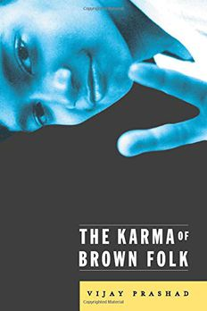 The Karma Of Brown Folk book cover