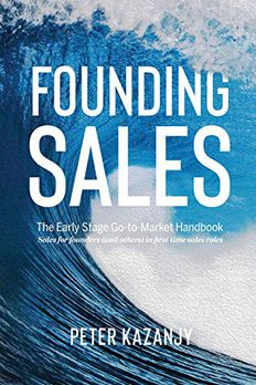 Founding Sales book cover