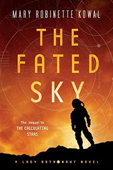 The Fated Sky book cover