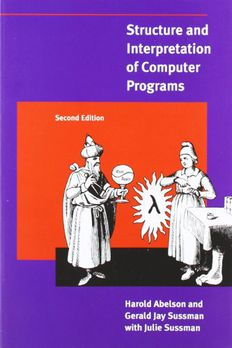 Structure and Interpretation of Computer Programs  book cover