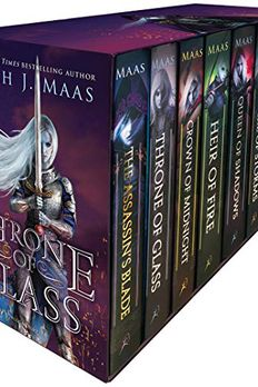 Throne of Glass Box Set book cover