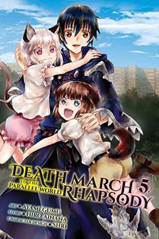 Death March to the Parallel World Rhapsody Manga, Vol. 5 book cover