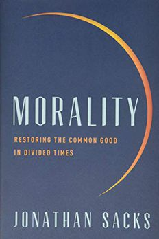 Morality book cover