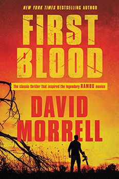 First Blood book cover