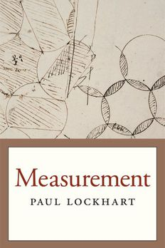 Measurement book cover