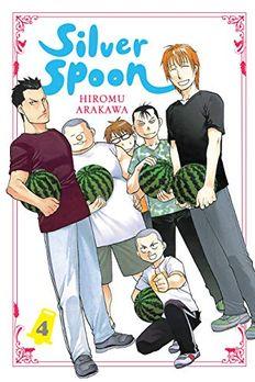 Silver Spoon Vol. 4 book cover