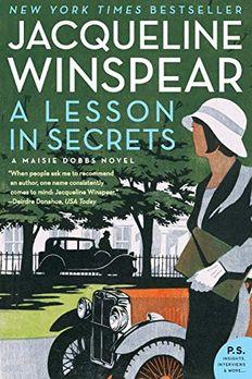 A Lesson in Secrets book cover