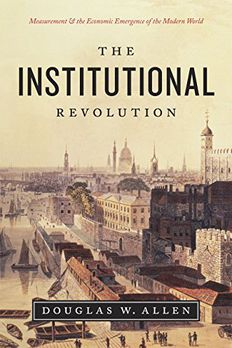 The Institutional Revolution book cover