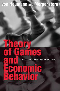 Theory of Games and Economic Behavior book cover
