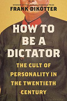 How to Be a Dictator book cover