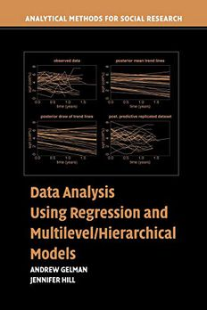 Data Analysis Using Regression and Multilevel/Hierarchical Models book cover