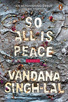 So All Is Peace book cover