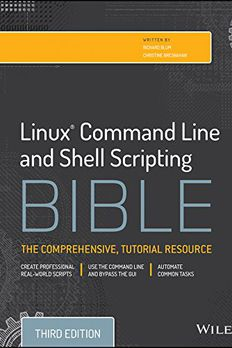 Linux Command Line and Shell Scripting Bible book cover