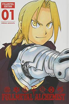 Fullmetal Alchemist book cover