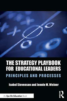 The Strategy Playbook for Educational Leaders book cover