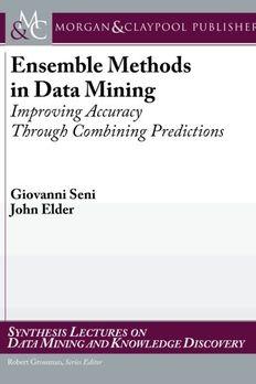 Ensemble Methods in Data Mining book cover