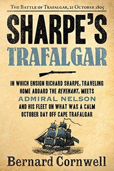 Sharpe's Trafalgar book cover