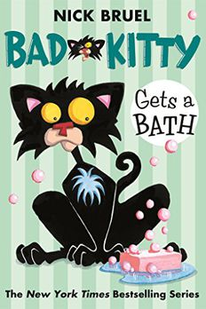 Bad Kitty Gets a Bath book cover