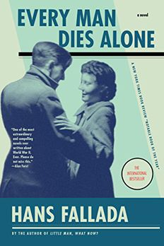 Every Man Dies Alone book cover