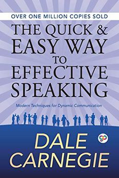 The Quick and Easy Way to Effective Speaking book cover