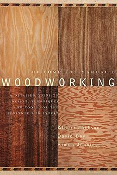 The Complete Manual of Woodworking book cover