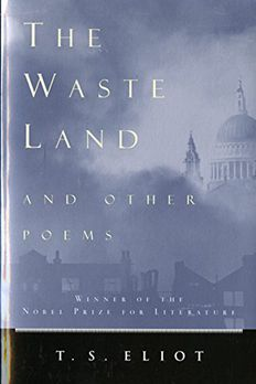 The Waste Land and Other Poems book cover