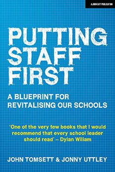 Putting Staff First book cover