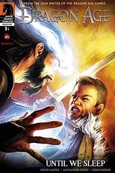 Dragon Age book cover