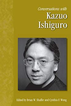 Conversations with Kazuo Ishiguro book cover