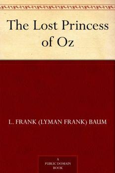 The Lost Princess of Oz book cover