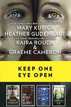 Keep One Eye Open book cover
