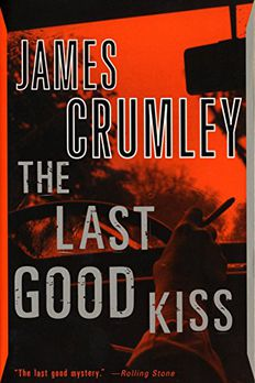 The Last Good Kiss book cover