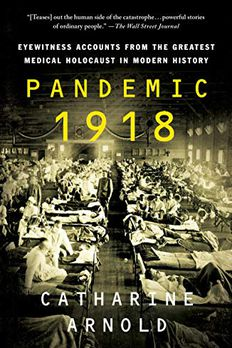 Pandemic 1918 book cover
