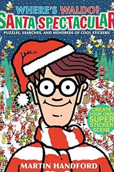 Where's Waldo? Santa Spectacular book cover