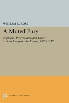 A Muted Fury book cover
