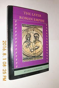 The Later Roman Empire book cover