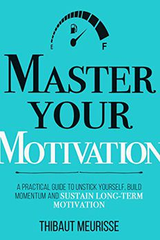 Master Your Motivation book cover
