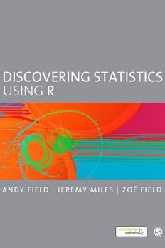 Discovering Statistics Using R book cover