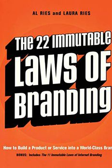 The 22 Immutable Laws of Branding book cover