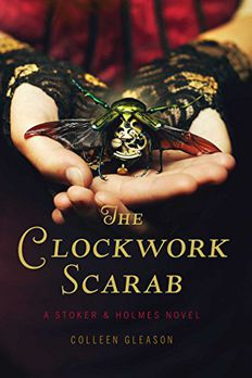 The Clockwork Scarab book cover
