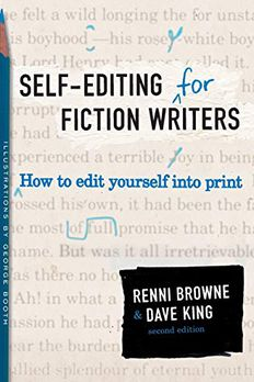Self-Editing for Fiction Writers book cover