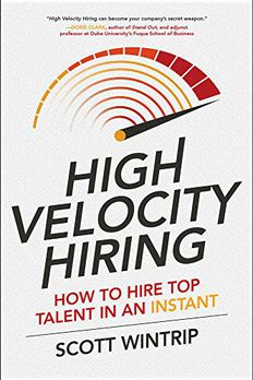 High Velocity Hiring book cover