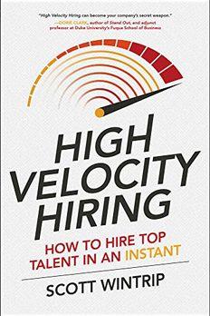 High Velocity Hiring book cover