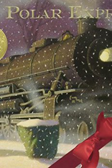 Polar Express 30th anniversary edition book cover