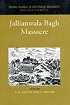 Jallianwala Bagh Massacreby V.N. Datta book cover
