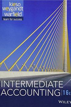 Intermediate Accounting book cover