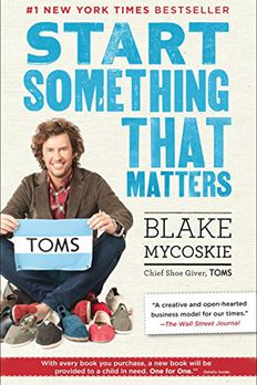 Start Something That Matters book cover